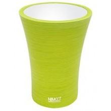 NIMCO ATRI pohárik na kefky 85x85x115mm žltozelená