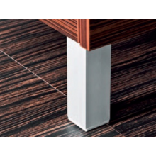 JIKA CUBITO nôžka k nábytku 40x40x130/145mm, nastaviteľná, ALU