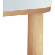 VITRA SENTO nohy k nábytku 175x50mm, 4ks, light oak