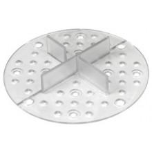 ALLIQ PEDALL CROSSIQ PED vyrovnávacej krížik do piesku a drviny, škára 3mm, transparent