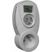 CONCEPT TZT-63C izbový termostat 230V zásuvkový, s časovačom biela