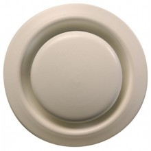 ZEHNDER STP-1-125 ventil odvádzaného vzduchu DN125 tanierový, biela