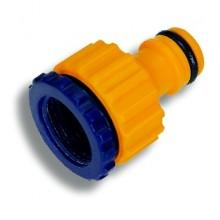 "NOVASERVIS adaptér 1/2""x3/4"", plast"