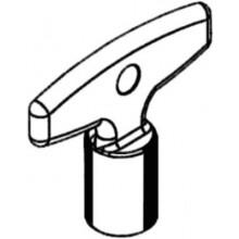 SCHELL nástrčný kľúč, pre POLAR / POLAR SET, chróm