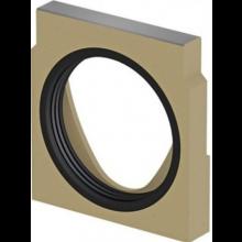 ACO MULTIDRAIN V100 čelná stena 135mm, s tesnením, pre odtok DN110, pre typ 0., polymérbetón/zinok