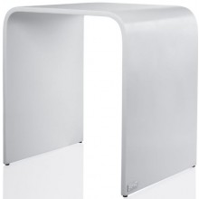 HÜPPE SHOWER SEAT sprchová stolička 380x300x400mm, veľkosť L, biela mat