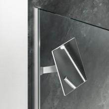 HÜPPE SELECT+ zrkadlo, pohyblivé, strieborná matná