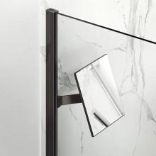 HÜPPE SELECT+ zrkadlo, pohyblivé, black edition