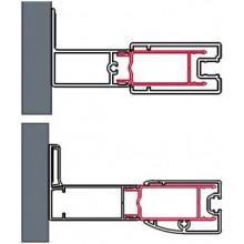 SANSWISS ACT2 stohovací profil 40x1898mm, matný elox