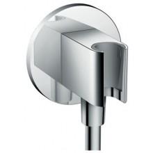 HANSGROHE FIXFIT PORTER S sprchový držiak G1/2xG1/2 so zabudovanou prípojkou pre hadicu, chróm