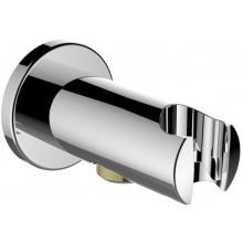 """LAUFEN TWINCURVE pripojenie sprchovej hadice 1/2"""", s nástenným držiakom ručnej sprchy, chróm"""