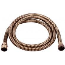 RAV SLEZÁK sprchová hadica 150cm, jednozámková, kov, stará mosadz