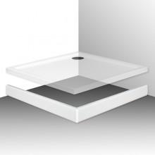 ROTH FLAT KVADRO 800 čelný panel 800mm, štvorec, krycí, akrylátový, biela