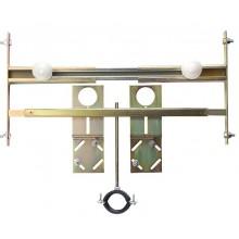 SANELA SLR04 montážny rám predstenový 420-600x30x250mm, pre umývadlá, do sadrokartónových konštrukcií