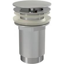 RAVAK umývadlová pileta CLICK-CLACK 64mm, pevná, chróm