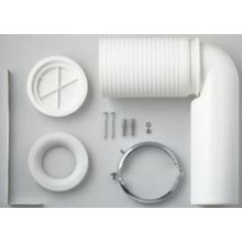 LAUFEN odpadové koleno 70-220mm, plast