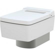 TOTO SG kryt odpadu WC, závesný, strieborná