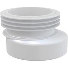 CONCEPT WC manžeta excentrická, biela