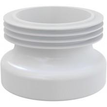 CONCEPT WC manžeta priama, biela