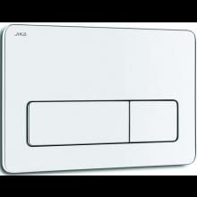 JIKA PL3 ovládacie tlačidlo 250x10x160mm, Dual Flush, lesklý, chróm
