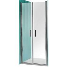 ROLTECHNIK TOWER LINE TCN2/1000 sprchové dvere 1000x2000mm dvojkrídlové na inštaláciu do niky, bezrámové, striebro/transparent