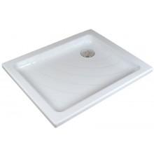 RAVAK ANETA 75 LA sprchovacia vanička 775x905mm akrylátová, obdĺžniková, biela A003701220
