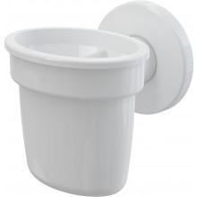 CONCEPT lievik s guličkou pre odkvapkávajúci kondenzát, biela