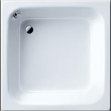 KALDEWEI SANIDUSCH 496 sprchová vanička 900x900x250mm, oceľová, obdĺžniková, biela