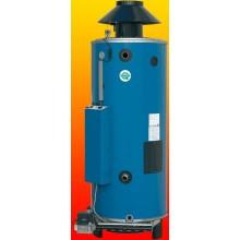QUANTUM Q7E-95-260 plynový ohrievač 335l, 63kW, zásobníkový, stacionárny, s intenzívnym ohrevom, do komína, modrá