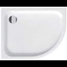 JIKA TIGO vanička sprchová keramická 1000x800x85mm asymetrická, ľavá, biela, Antislip 8.5221.0.600.000.1