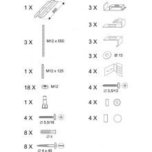 RAVAK ROSA panelkit U B23000100N