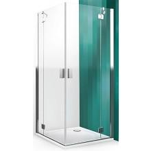 ROLTECHNIK HITECH LINE HBO1/1000 sprchové dvere 1000x2000mm jednokrídlové, bezrámové, brillant premium/transparent
