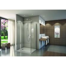 CONCEPT 200 CONT1 bočná stena 1000x2000mm, aluchrom/číre sklo concept clean