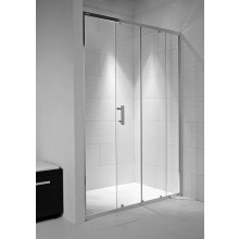 JIKA CUBITO PURE sprchové dvere 1400x1950mm dvojdielne, arctic 2.4224.8.002.666.1