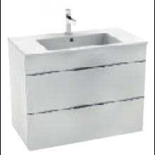 JIKA CUBE skrinka s umývadlom 800x340x607mm, biela / biela 4.5376.2.176.300.1