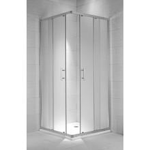 JIKA CUBITO PURE sprchovací kút 800x800x1950mm štvorcový, arctic 2.5124.1.002.666.1
