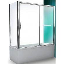 ROLTECHNIK PXV2L/1700 vaňová zástena 1700x1500mm ľavá, s posuvnými dverami, brillant/transparent