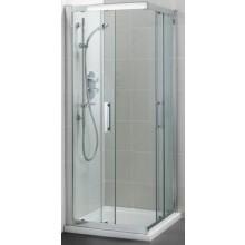 IDEAL STANDARD SYNERGY sprchový kút 900x900mm štvorcový, silver bright/sklo L6374EO