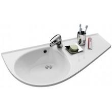 RAVAK AVOCADO COMFORT špeciálne umývadlo nábytkové 950x530x190mm z liateho mramoru, pravé s otvorom, biela