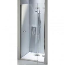 KOLO NEXT krídlové dvere do niky 1000x1950mm dvere otvárateľné von, ľavé/pravé, chróm/číre skloReflexKolo