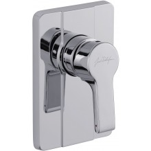 KOHLER SINGULIER sprchová batéria 115x86-116x170mm podomietková, páková, polished chrome 98708D-CP