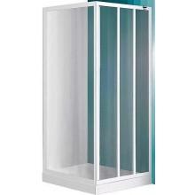 ROLTECHNIK PROJECT LD3/950 sprchové dvere 950x1800mm posuvné pre inštaláciu do niky, biela/grape