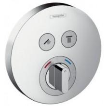 HANSGROHE SHOWER SELECT sprchová batéria 150mm podomietková, pre 2 spotrebiče, vrchná sada, chróm