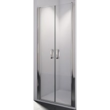 SANSWISS SWING LINE SL2 sprchové dvere 900x1950mm dvojkrídlové, aluchrom/číre sklo