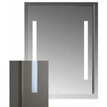 JIKA CLEAR zrkadlo 600x810mm, s LED osvetlením 4.5572.5.173.144.1