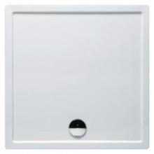 RIHO ZÜRICH 260 sprchová vanička 100x100x4,5cm, štvorec, bez podpier a bez panela, akrylát, biela