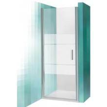 ROLTECHNIK TOWER LINE TCN1/900 sprchové dvere 900x2000mm jednokrídlové, striebro/transparent