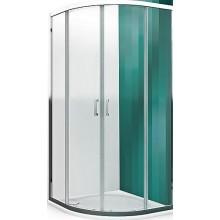 ROLTECHNIK LEGA LINE LLR2/900 sprchový kút 900x1900mm štvrťkruhový, s dvojdielnymi posuvnými dverami, rámový, brillant/transparent
