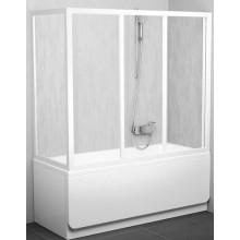 RAVAK APSV 80 vaňová stena 770-805x1370mm biela / transparent 95040102Z1