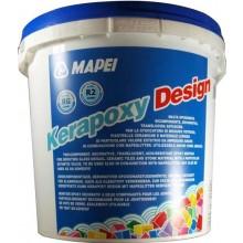 MAPEI KERAPOXY DESIGN škárovacia hmota 3kg, dvojzložková, epoxidová, 103 mesačná biela